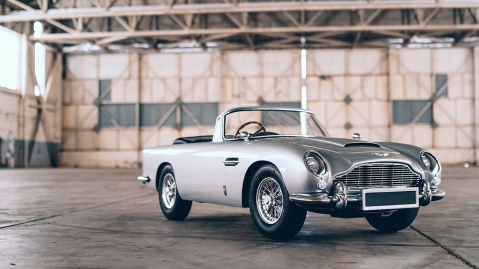 """Aston Martin and Little Car Company's DB5 Junior """"No Time To Die"""" Edition"""