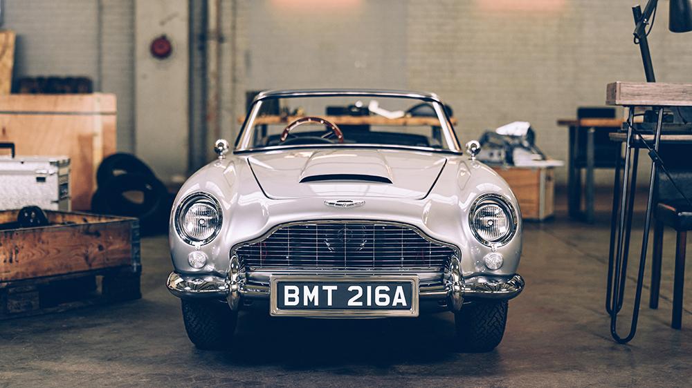 """Edición """"No Time To Die"""" de DB5 Junior de Aston Martin y Little Car Company"""