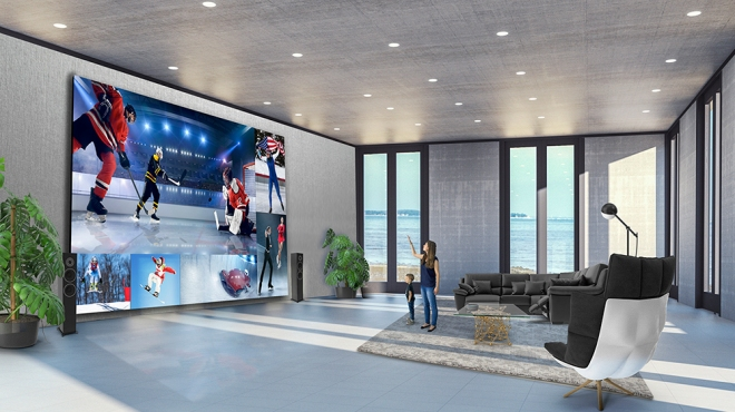 LG's 325-inch 8K DVLED TV
