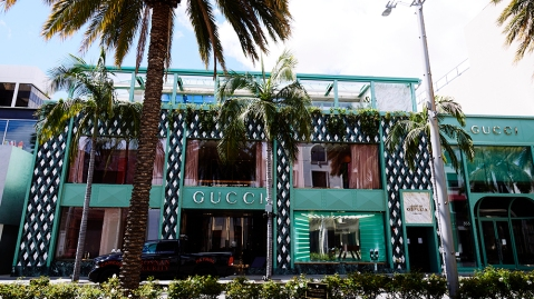 Gucci on Rodeo Drive in Beverly Hills, California