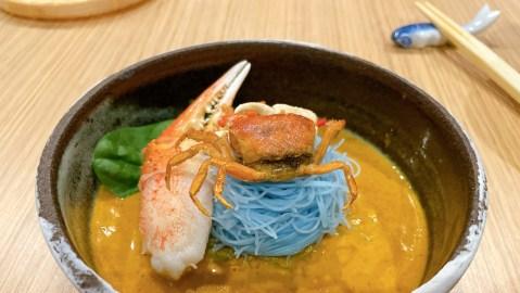 seasonal crab curry