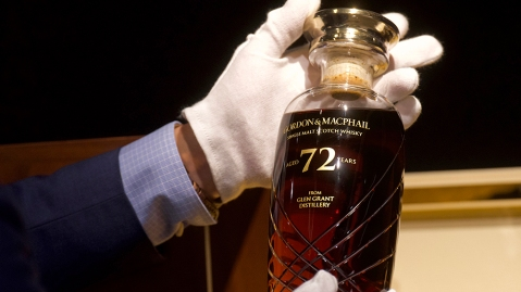 Secondary market sales of rare whisky are up 30 percent compared to 2019