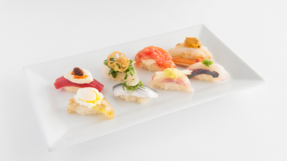 Sushi Dish Jarry Sushi Sampler