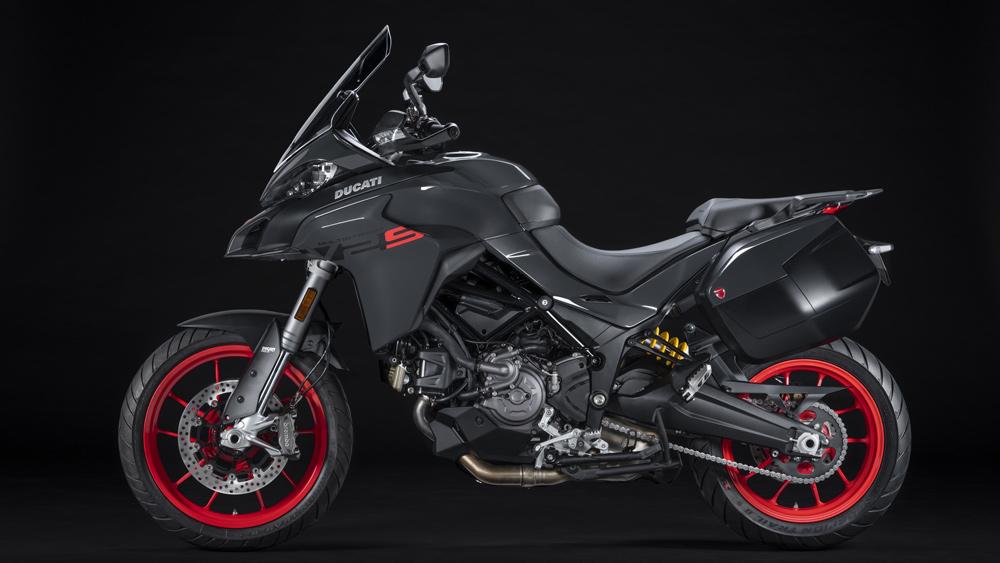 The 2022 Ducati Multistrada V2 motorcycle.