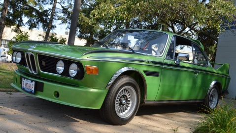 A 1975 BMW 3.0 CSL.