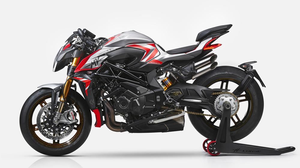 MV Agusta's Brutale 1000 Nürburgring motorcycle.