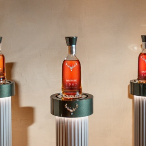 A total of 15 examples of the five-bottle Dalmore Decades collection exist.