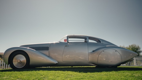 The one-and-only 1938 Hispano-Suiza Dubonnet Xenia.