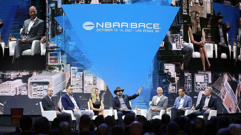 NBAA conference about emerging eVTOL market