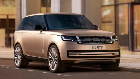 The redesigned Range Rover SUV.