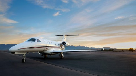 Phenom 300 sales to NetJets were a big announcement at the show.