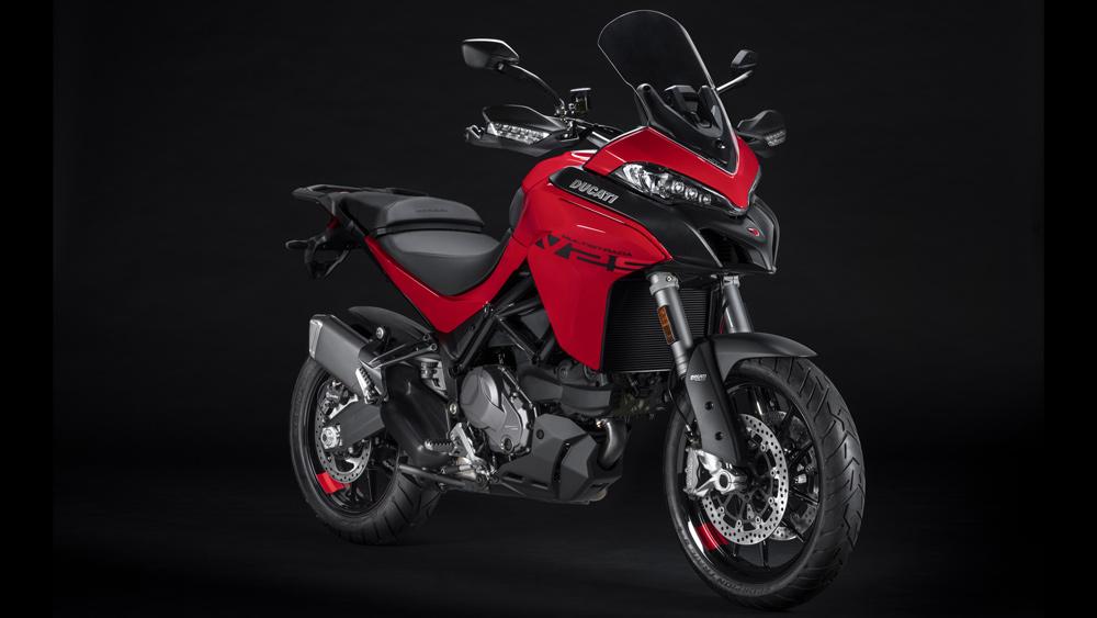 The 2022 Ducati Multistrada V2 S motorcycle.