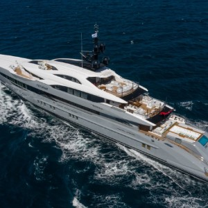 The 256-foot Tatiana is one of the best yachts to come out of Turkey ever.