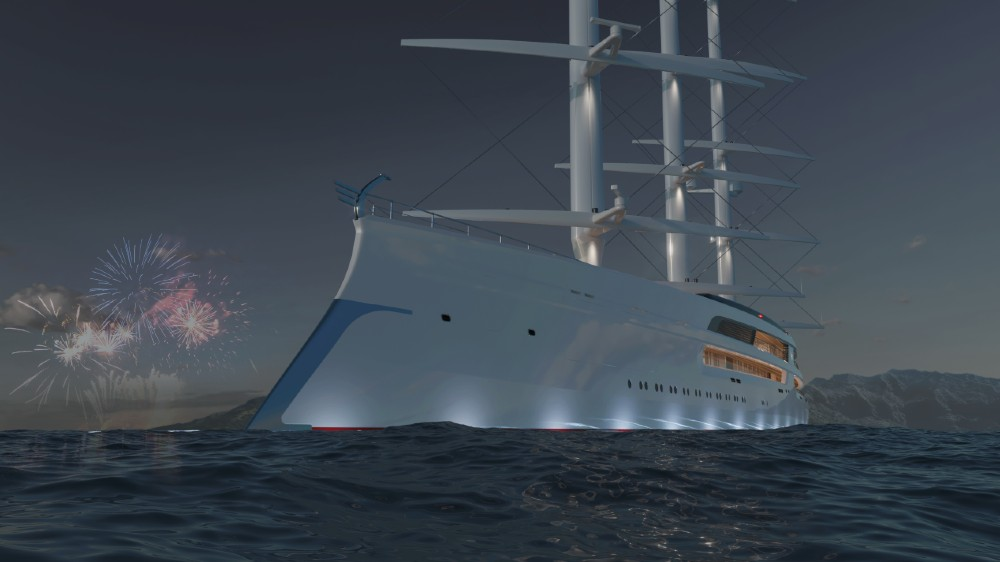 Project Sonata would be an amalgam of the best super sailing yachts in the world.