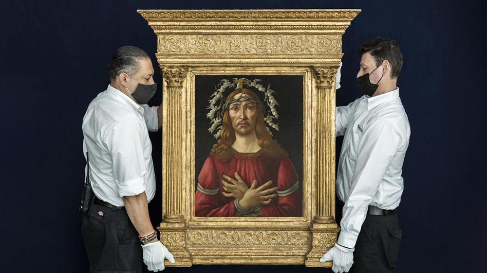 Sandro Botticelli, The Man of Sorrows