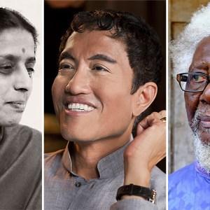 Gira Sarabhai, Jaya Ibrahim, Demas Nwoko