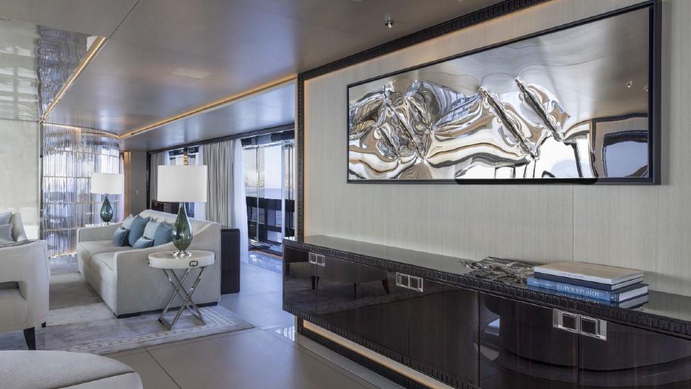 Rossinavi's Polaris is a 230-foot bespoke superyacht with hybrid power