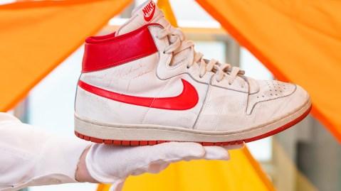 Michael Jordan 1984 Nike Air Ships