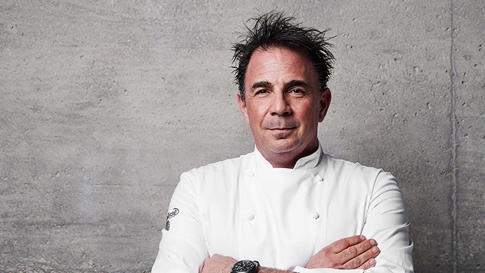 chef josiah citrin chef whites portrait