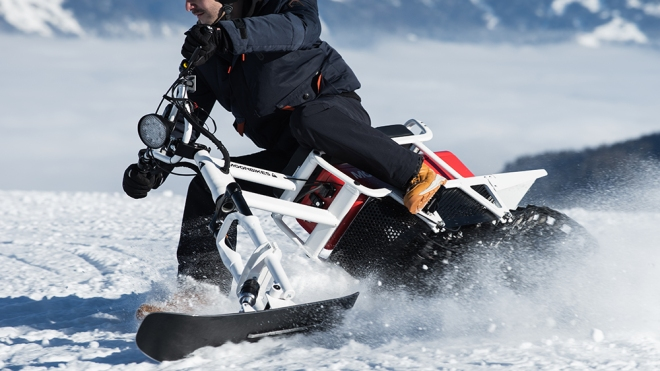 Moonbikes Electric Snowbike