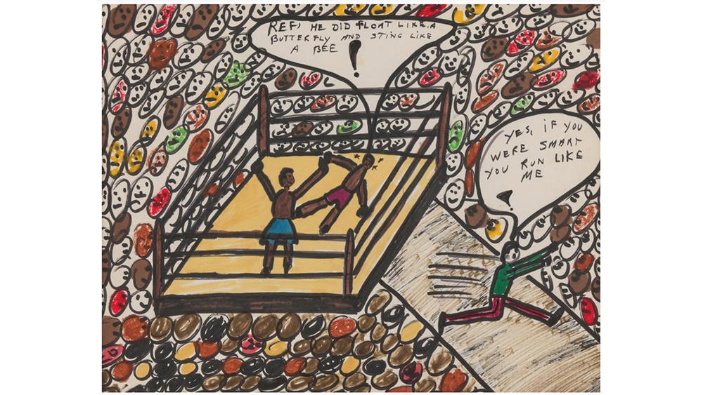 Muhammad Ali Art Auction by Bonhams