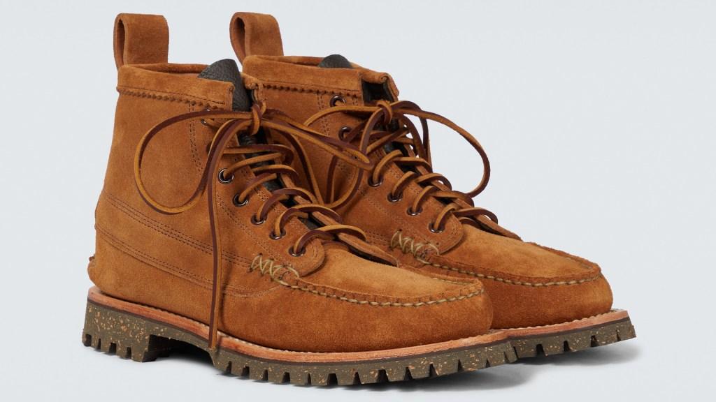 Yuketen Angler Boots with Cortina Sole