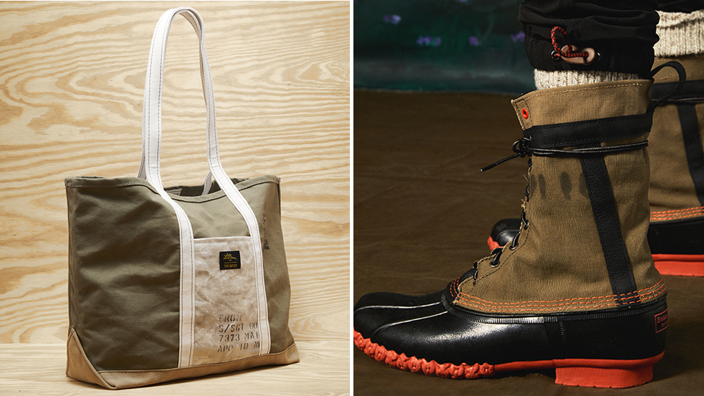Todd Snyder x LL Bean Upcycled Collection