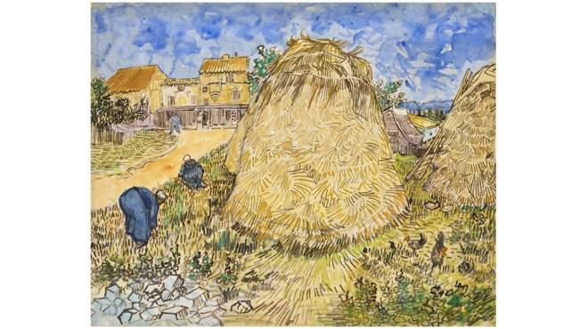 Van Gogh Meules de blé