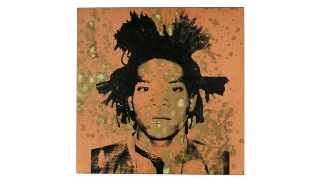 Andy Warhol Basquiat Portrait