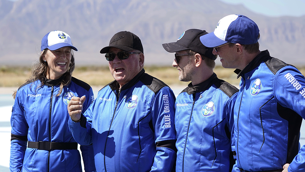 William Shatner Space Launch