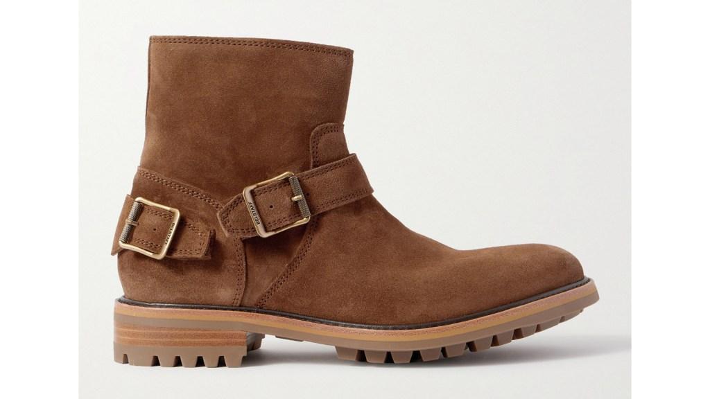 Belstaff Trailmaster Suede Boots