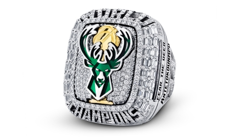 Milwaukee Bucks 2020-21 NBA Championship Ring