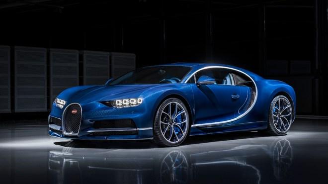 The first Bugatti Chiron
