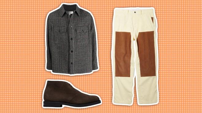 Isabel Marant shirt-jacket, Saturdays NYC pants, Church's boot