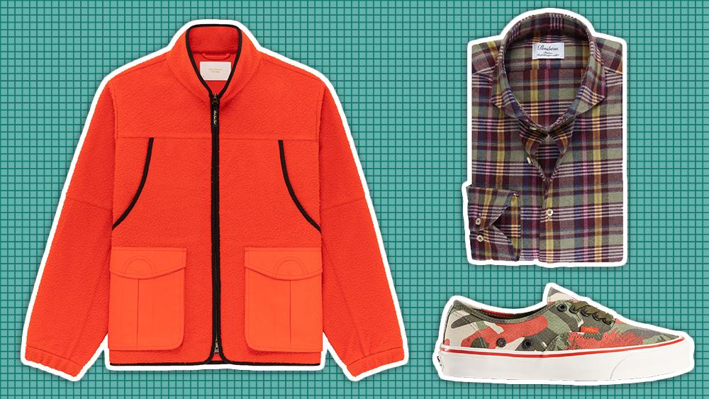 Aimé Leon Dore jacket, Stenströms shirt, Vans sneakers