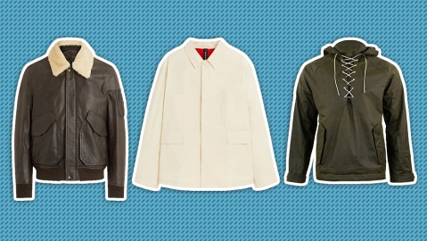 Waxed jackets by Belstaff, Mackintosh and Alps & Meters