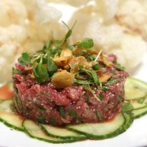 steak tartare vegas steakhouse harlo