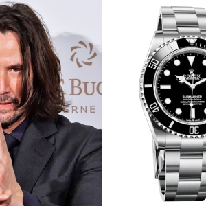 Keanu Reeves and the Rolex Submariner Date Ref. 126610LN
