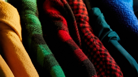 A selection of shirts from L.L. Bean's Pre-Loved collection.