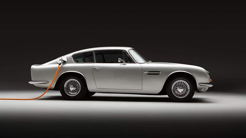 Lunaz's electrified Aston Martin DB6