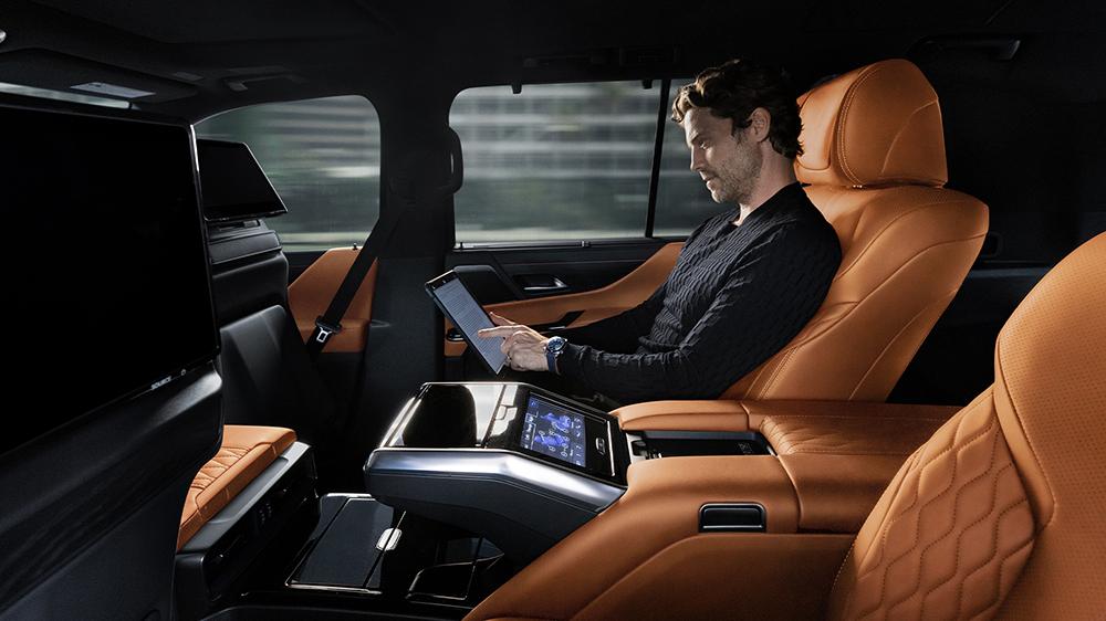 Inside the 2022 Lexus LX 600 Ultra Luxury
