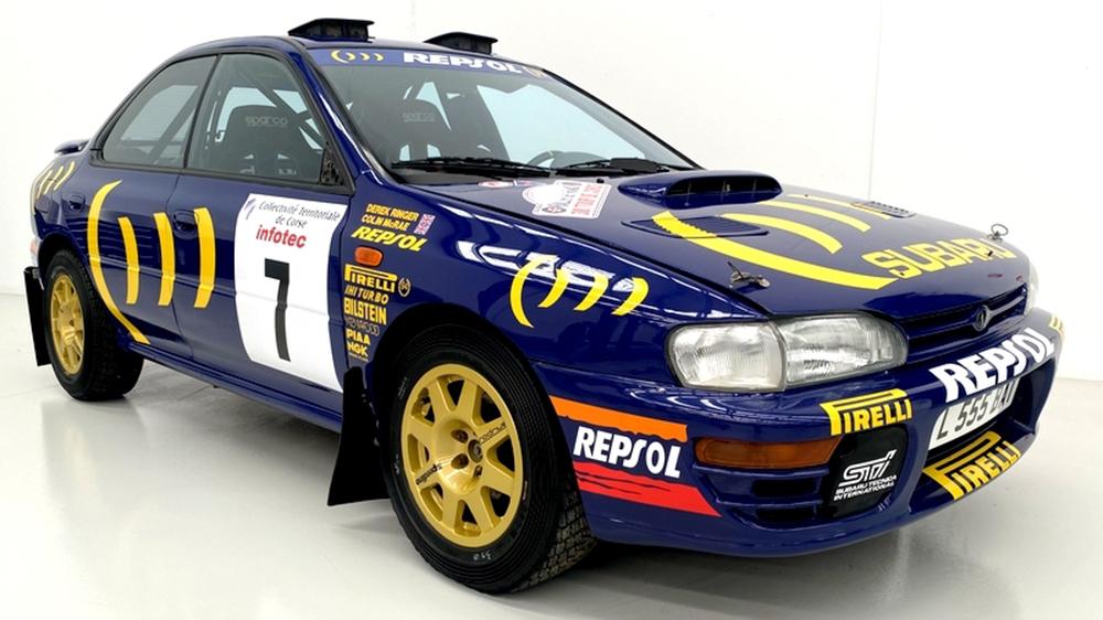1994 Prodrive Subaru Impreza rally car