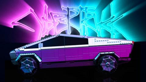 Mega x Tesla Cybertruck set