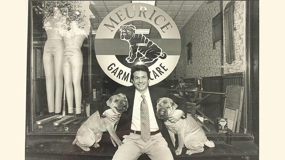 Wayne Edelman in front of Meurice's original location, opened in 1961.