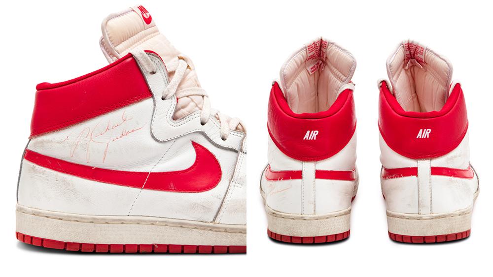Michael Jordan Earliest Known Regular Season Nikes