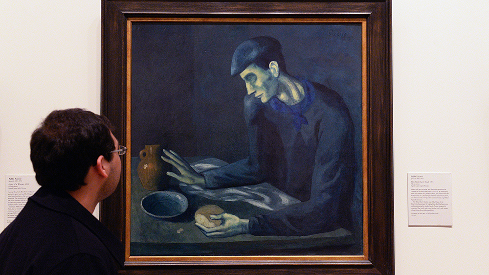 """Pablo Picasso's """"The Blind Man's Meal"""""""