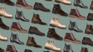 An assortment of boots