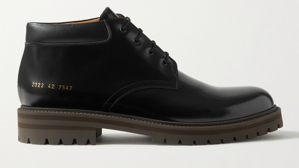Common Projects combat boot